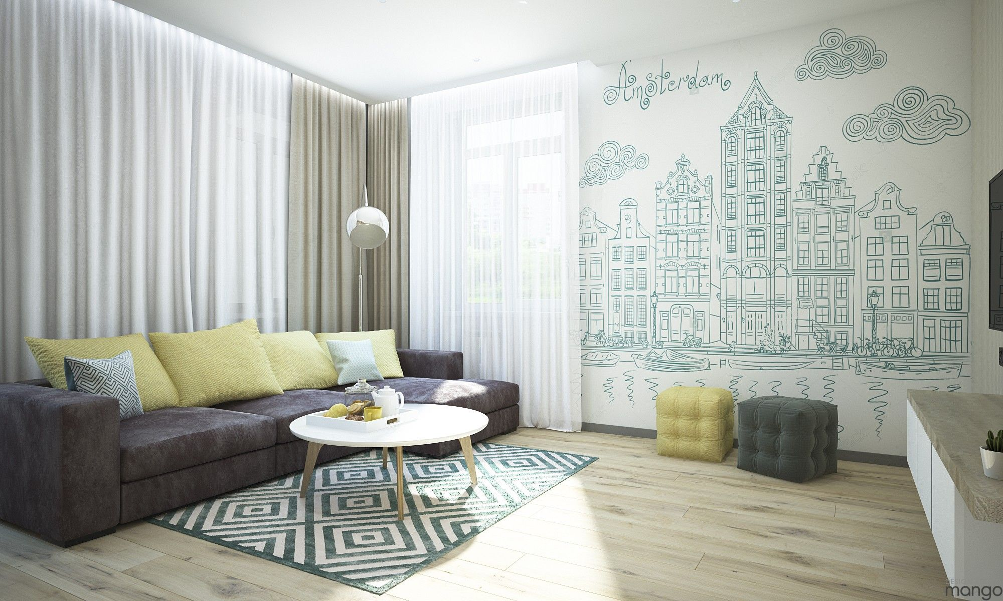 Inspiration To Arrange Small Living Room Designs Which Combine Looks ...