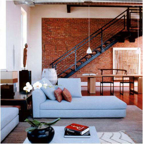 Loft Spaces exposed brick loft spaces | for the (dream) home | pinterest