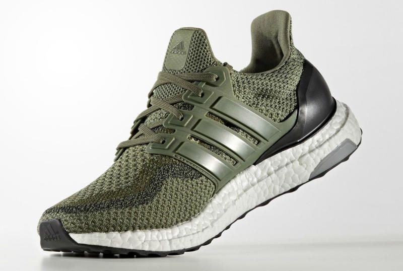 adidas Ultra Boost 2.0 Olive | Sneakers