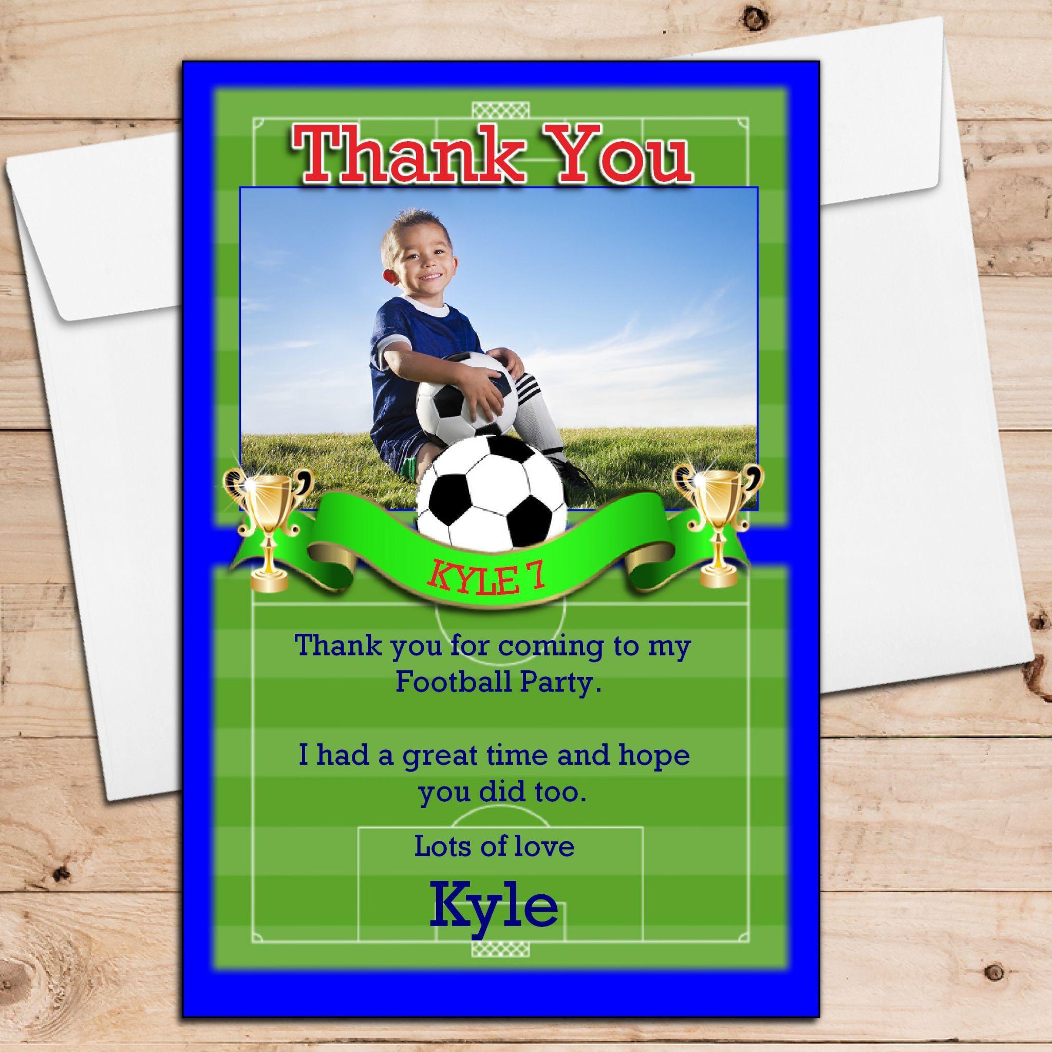 Kindergeburtstag Einladungskarten Fussball Kostenlos