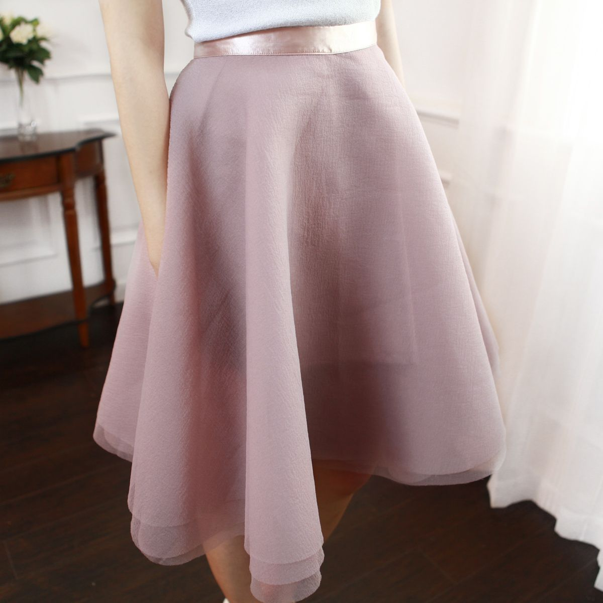 Amazing Layers Organza Full Skirt : The Art of Vintage-inspired & Cute Women's Clothing | Larmoni