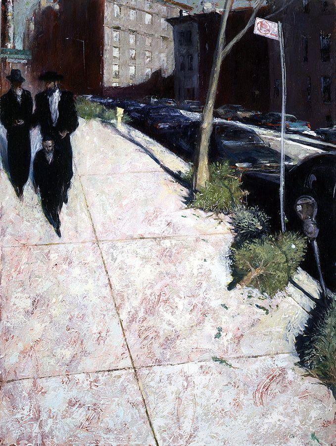 David FeBland, 1949 | Expresionista pintor del paisaje urbano | Tutt'Art @ | Pittura * Scultura * * Poesia Musica |