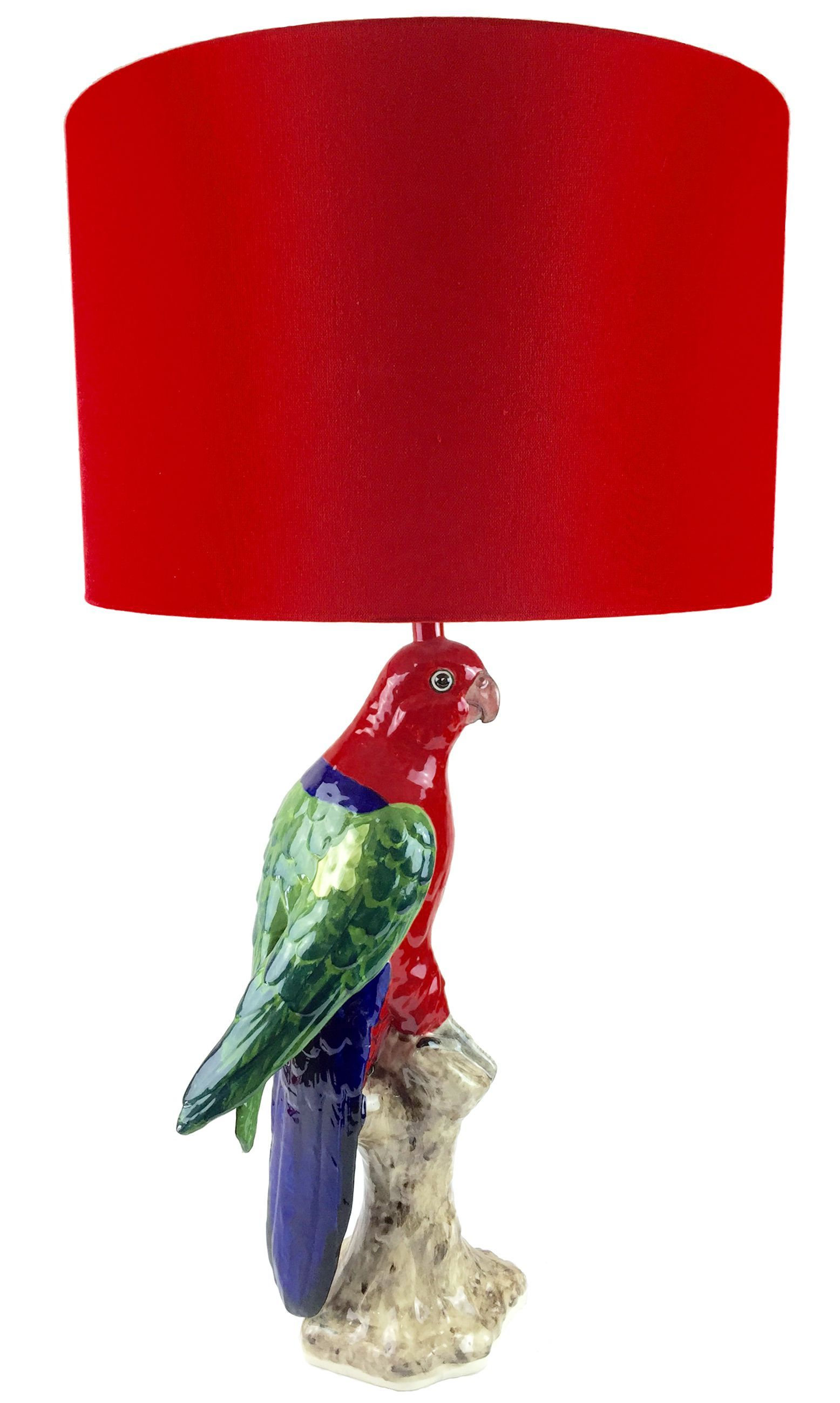 King parrot table lamp gifts pinterest display and interiors