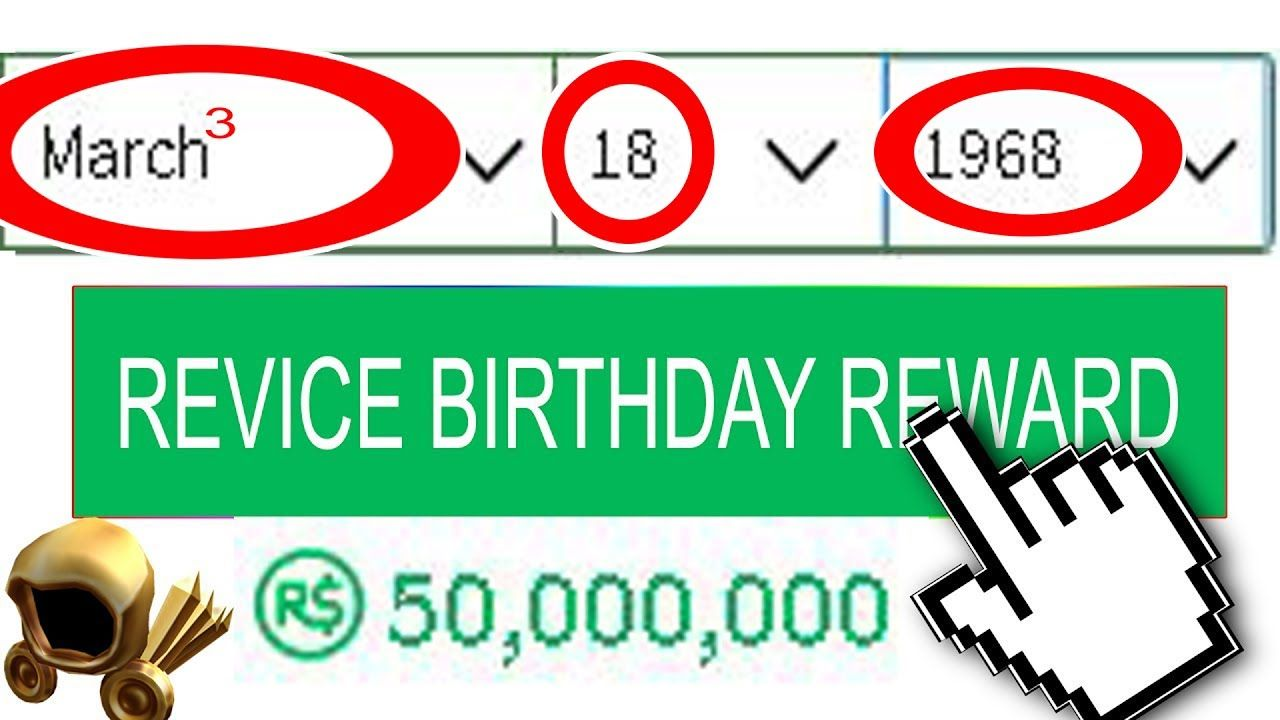 New Change Your Birthday To This Date Within 1 Day To Get 50m
