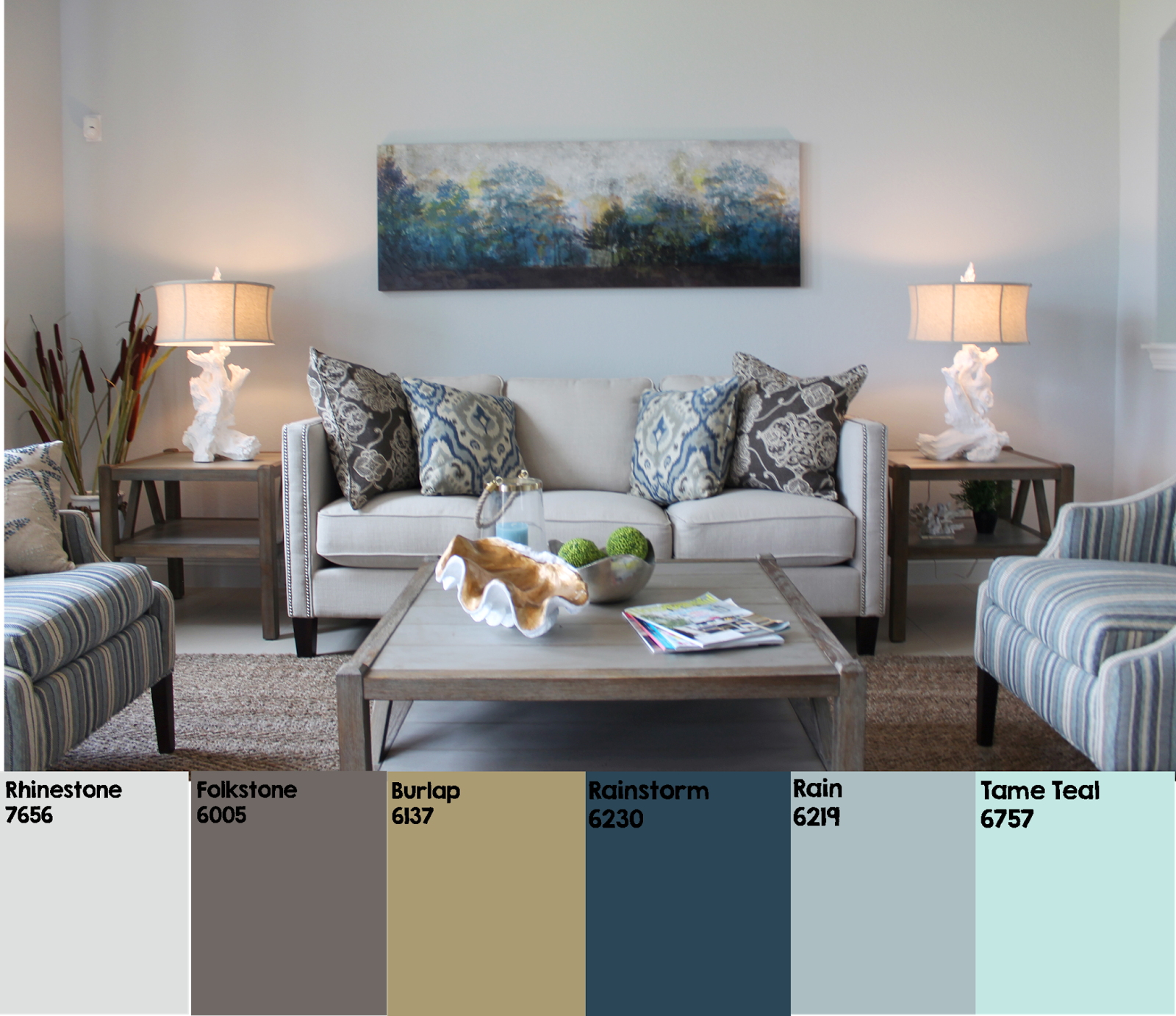 Color Me Beach House Blue How To Decorate With A Warm Neutral