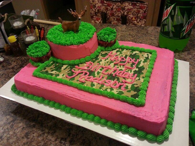 Pink Camo Birthday Cake Ideas Cakes