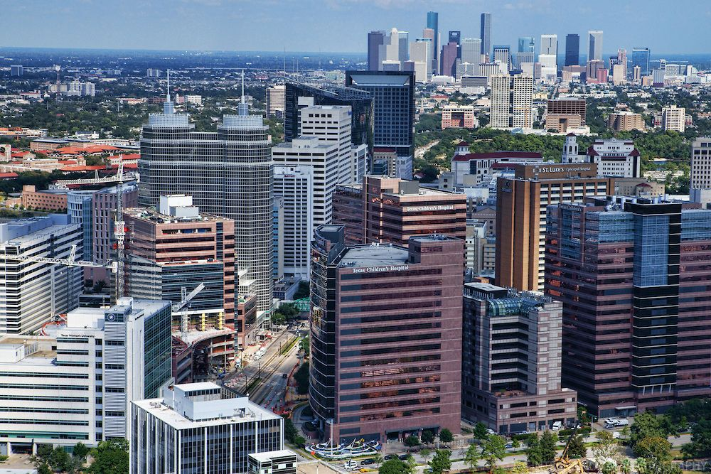 Aerial View, Texas Medical Center | Houston | Pinterest | Texas ...