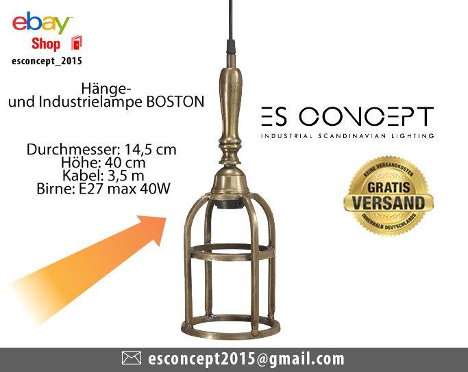 Industrielampe Boston Aus Messing Boston Ist Eine Lampe Die Aus Messing Hegestellt Wurde Sie Kann Als Deckenlampe Oder Wan Lampen Industrielampen Deckenlampe