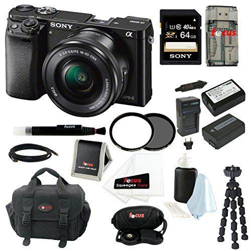 Sony Alpha A6000 Ilce 6000l B Ilce600 Digital Camera Camera Mirrorless Camera