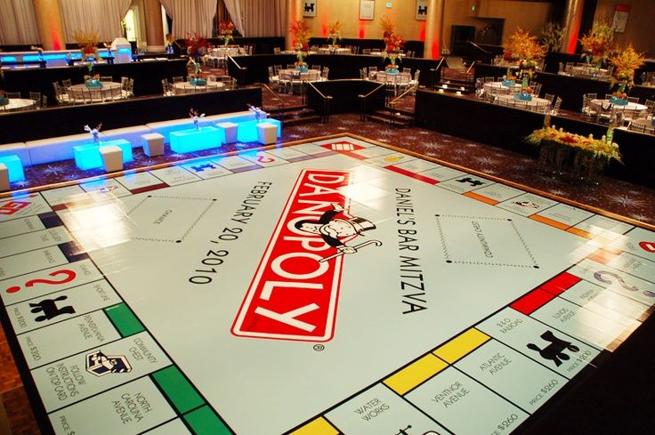 Awesome dance floor graphics dancefloor party monopoly for Floor graphics