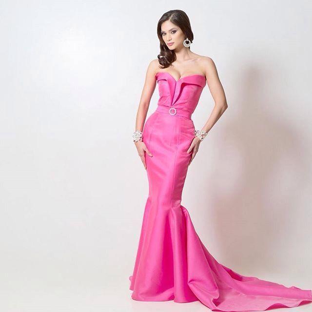 Beautiful  Pía Alonzo Wurtzbach - Binibining Pilipinas 2015 / Rumbo a la corona de Miss Universo 2015 en Las Vegas, Nevada USA  #Beauty #Beautiful #MissPhilippines #MissUniverse #BeautyPageant