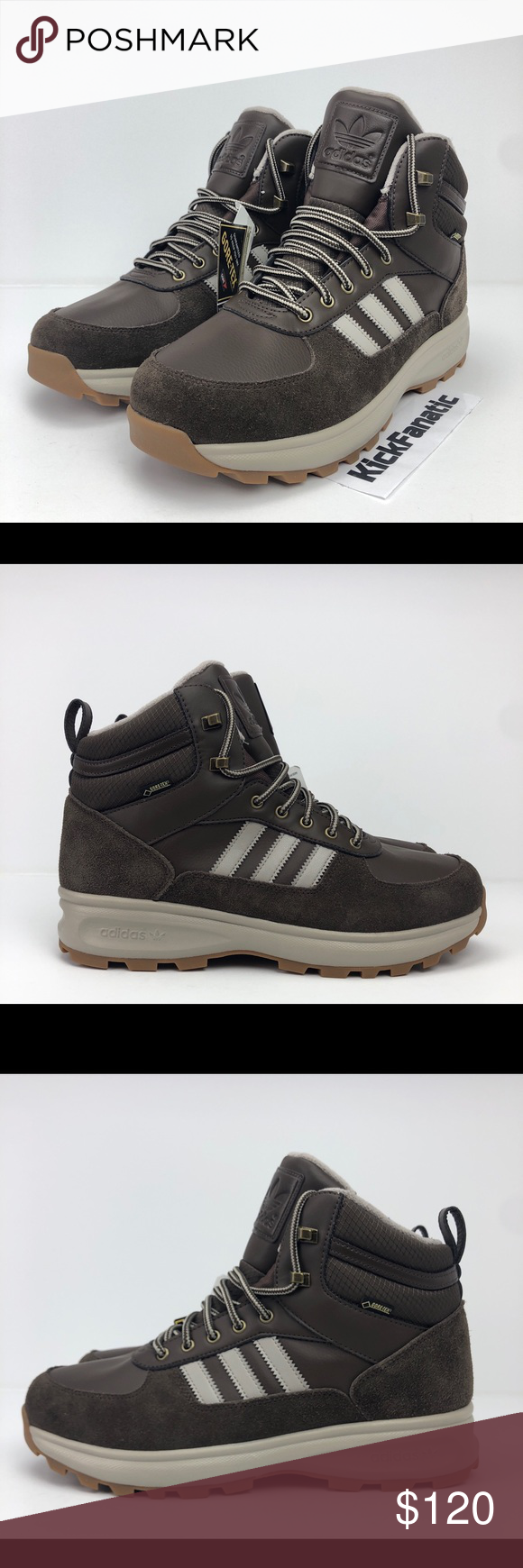 Adidas Chasker Boot Gore Tex GTX Brown Boots Adidas Chasker