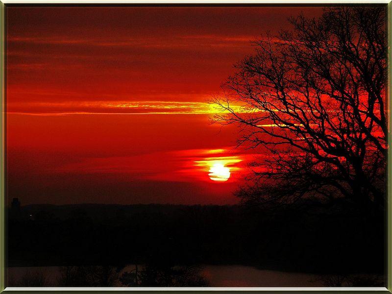 Feliz Quarta Sunset