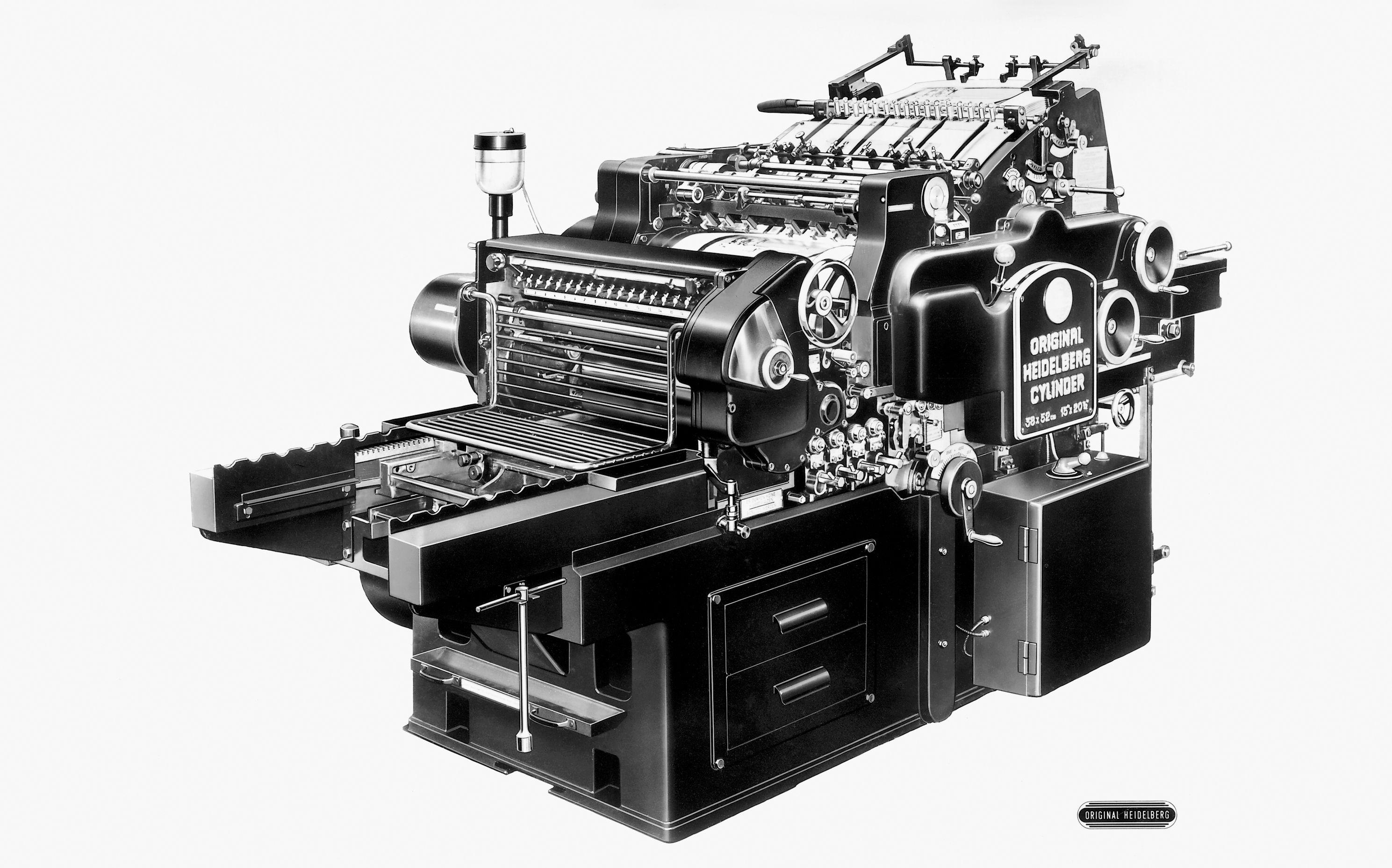Offset Cylinder press