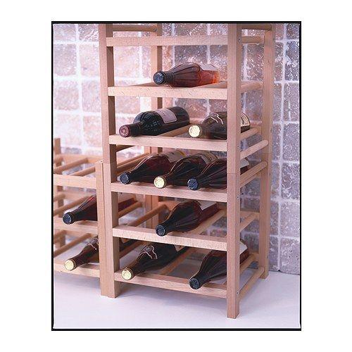 Hutten botellero 9 botellas madera maciza botellero - Cosas de ikea ...
