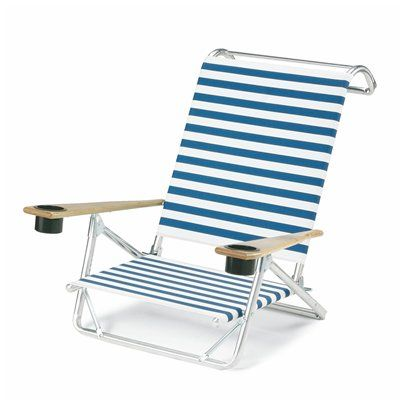 Small Folding Table Lightweight High Quality Low Sand Beach Chair With Armrest