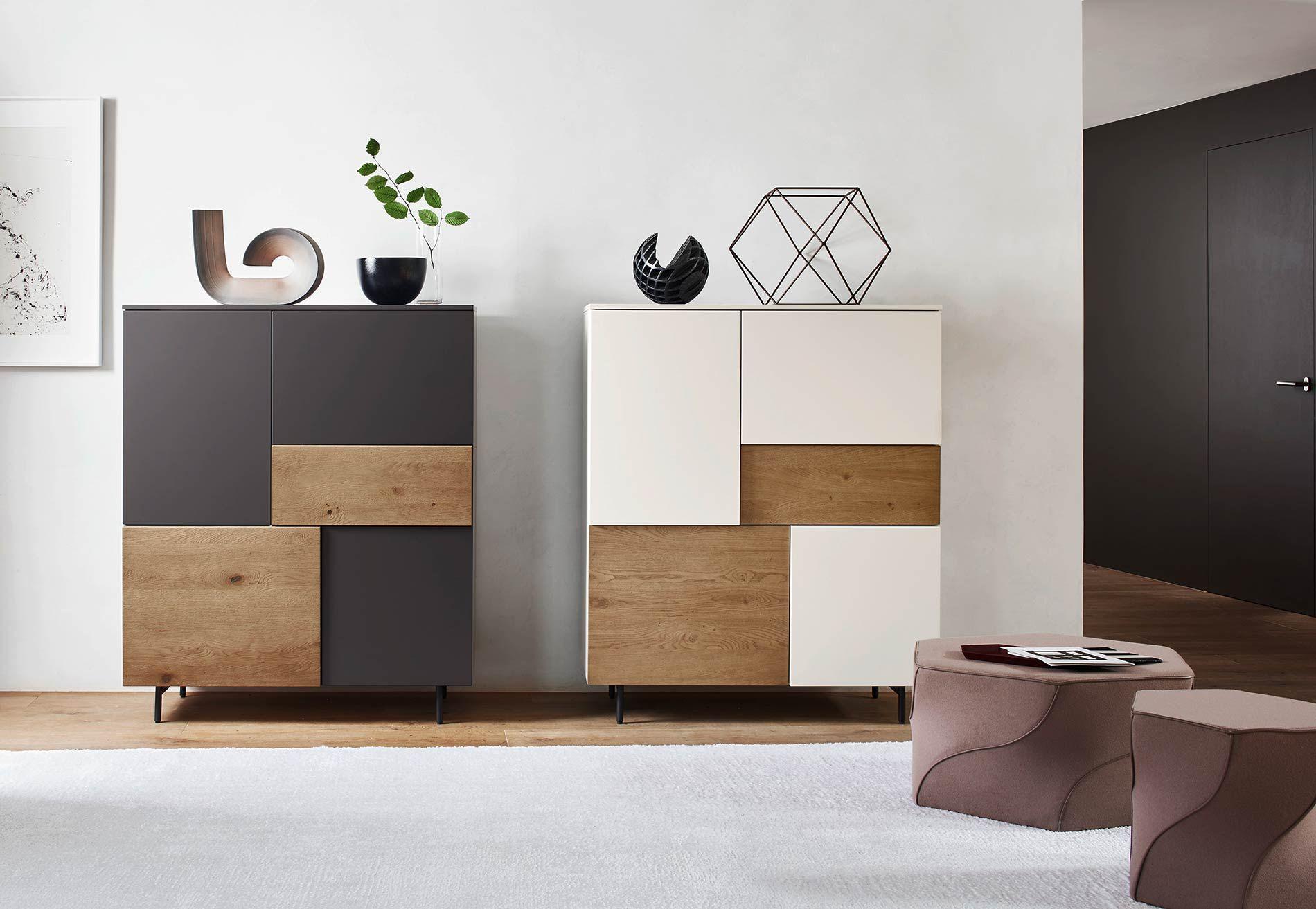 Hoher Design Schrank für Flur  Highboard, Wohnzimmer design