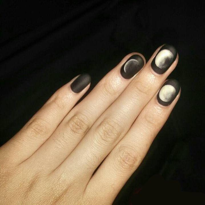 Αποτέλεσμα εικόνας για eclipse nail art | Nail art | Pinterest ...