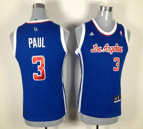 5c6dea647ea2 Clippers  3 Chris Paul Blue Women Fashion Embroidered NBA Jersey! Only   17.50USD