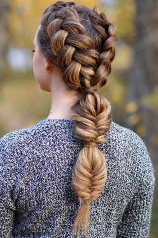 70 Cute And Creative Dutch Braid Ideas | Hair styles, Cool ...