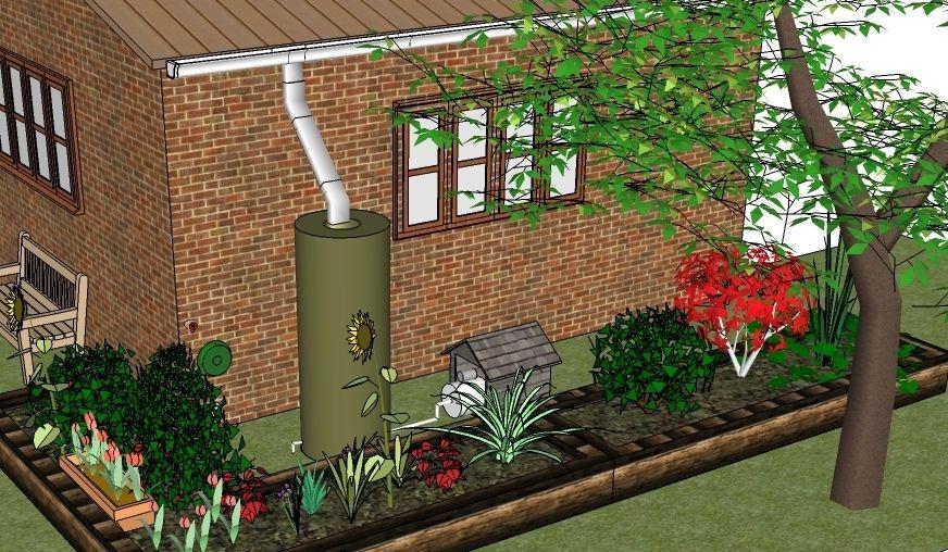 Iris Rain Integrated Rainwater Irrigation System Rainwater