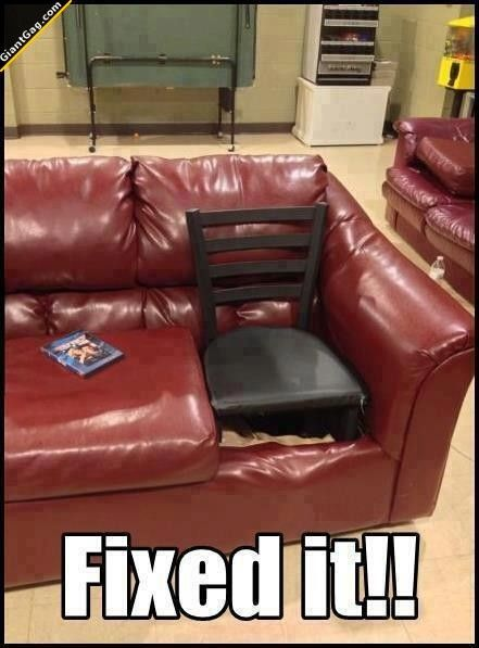 Fixed The Couch | Click the link to view full image and description : )