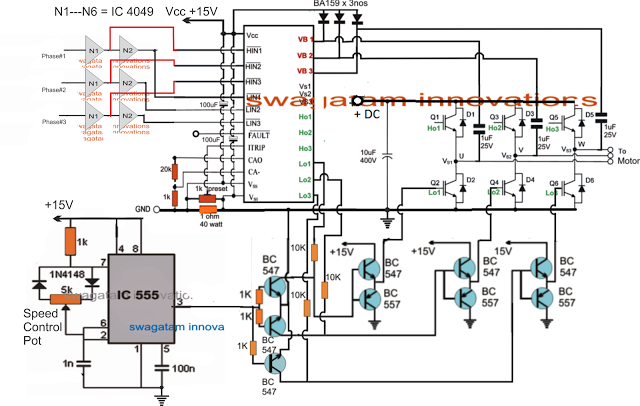 Universal ESC Circuit for BLDC motors | Elektronik | Pinterest