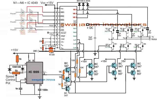 Universal Esc Circuit For Bldc Motors Brushless Dc Bldc