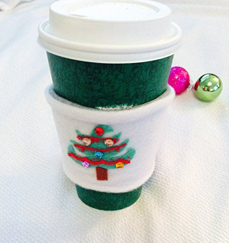 Handmade Corset Christmas Tree Coffee Cozy Christmas Coffee Cup Cozy Winter Coffee Cozy Fleece Mug Cozy Coffee S With Images Christmas Coffee Cool Mugs Coffee Cup Cozy