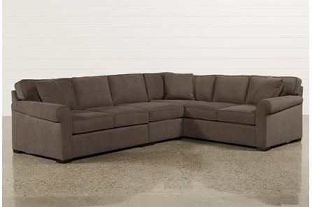 Alder Foam 4 Piece Sectional Sofa With Right Arm Facing Chaise