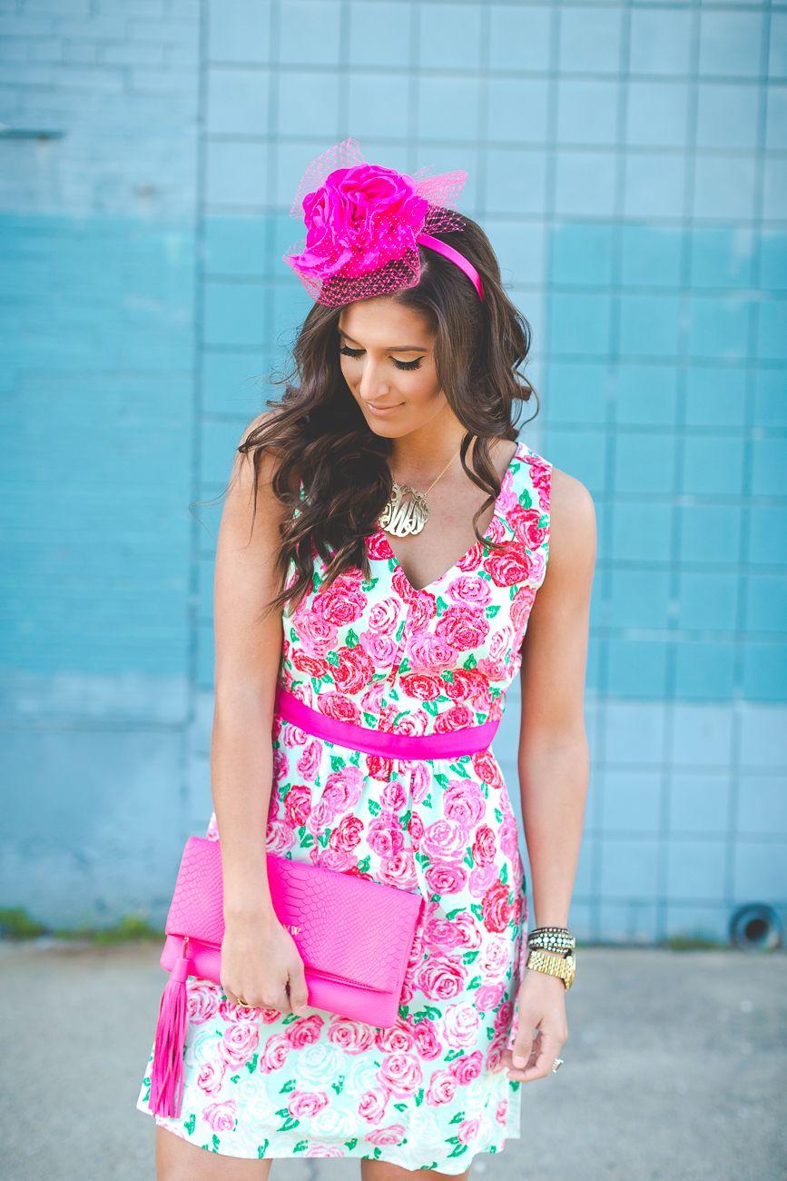 2f32e0737494b Kentucky Derby Run for the Roses Dress