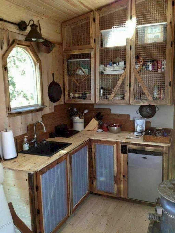 Gorgeous Tiny House Kitchen Design Ideas In 2020 Small House Kitchen Design Small Rustic Kitchens House Design Kitchen