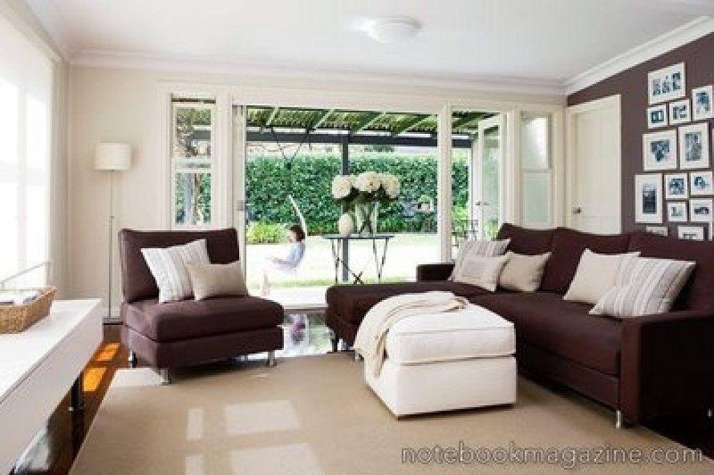 Resultado de imagen de sofa marron decoracion colores for Sofas marrones decoracion