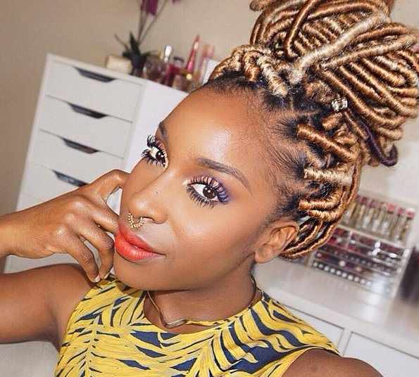 20 Stunning Photos of Black Women Rocking Faux Locs