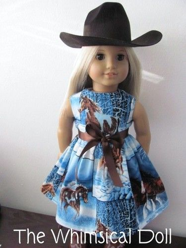 Winter horse Dress for The American Girl Doll | American Girl ...