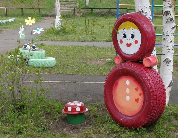 Merveilleux 23 Creative Ways To Reuse Old Tires As A Garden Decoration