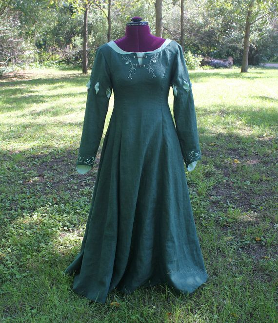Custom Susan Pevensie Inspired Dress, Narnia Costume, Celtic