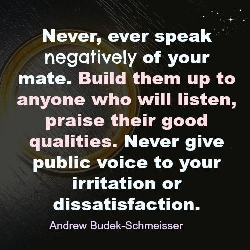 speak life in relationship