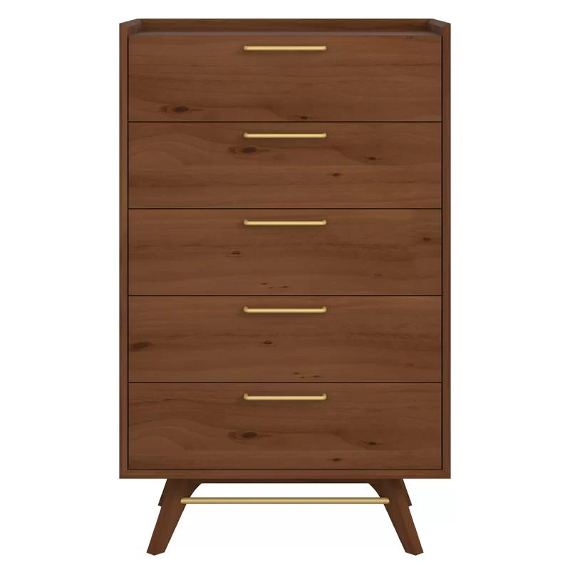 Moffitt 5 Drawer Chest Allmodern 5 Drawer Chest Furniture Dresser Decor