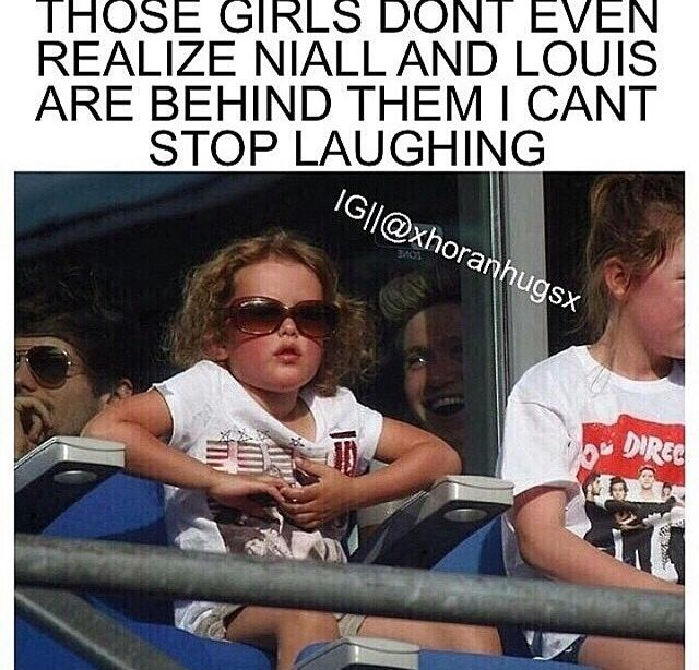 wtf! i would recognize niall by his laugh and louis by his talking especially if both of them were talking.