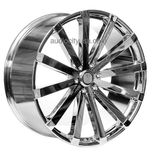 22 24 26 28 Velocity Wheels Vw12 Chrome Rims