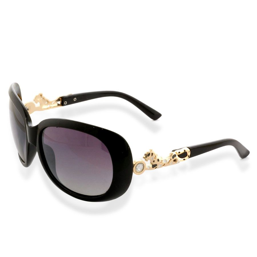 c3ca72087a J Francis - Black and Panther  Sunglasses 100% UV Protection ...