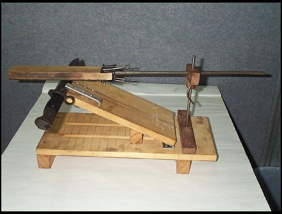 knife grinding jig plans - Bing Images