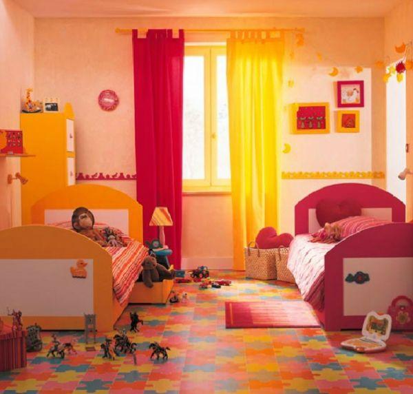 kinderzimmer komplett gestalten ? wenn junge und mädchen einen ... - Kinderzimmer Gelb Pink
