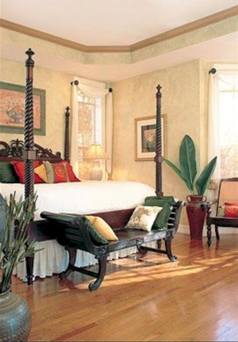 64 Stunning Dark Wood Bedroom Furniture Ideas Colonial