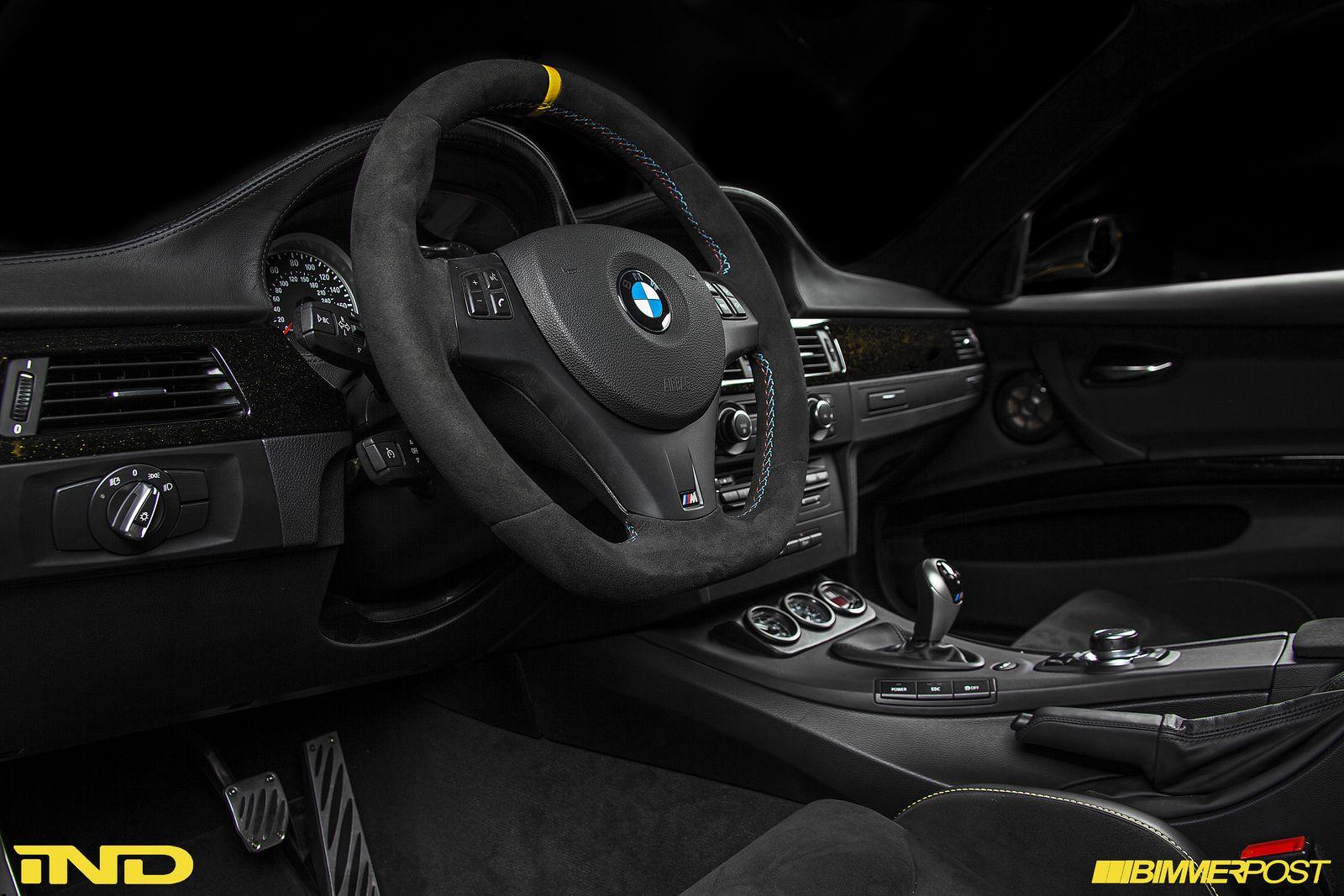 Powerbeastu0027s Dakar Yellow BMW E90 M3 Individual   Interior