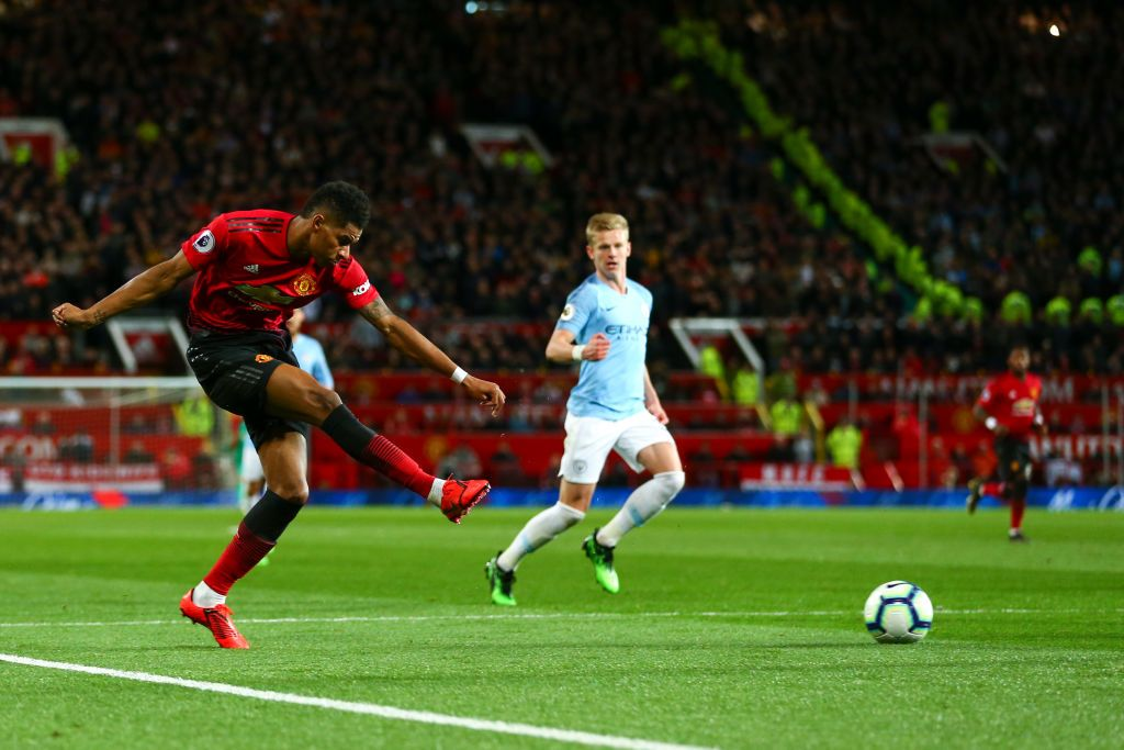 Marcus Rashford Of Manchester United During The Premier League Match Premier League Matches Manchester United Premier League