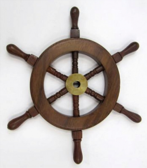 Wooden Ship Wheel Nautical Decor An Excellent Size For Many Projects And Events Buy In Bulk And Save These Ship Whe Wheel Decor Wooden Ship Sheesham Wood