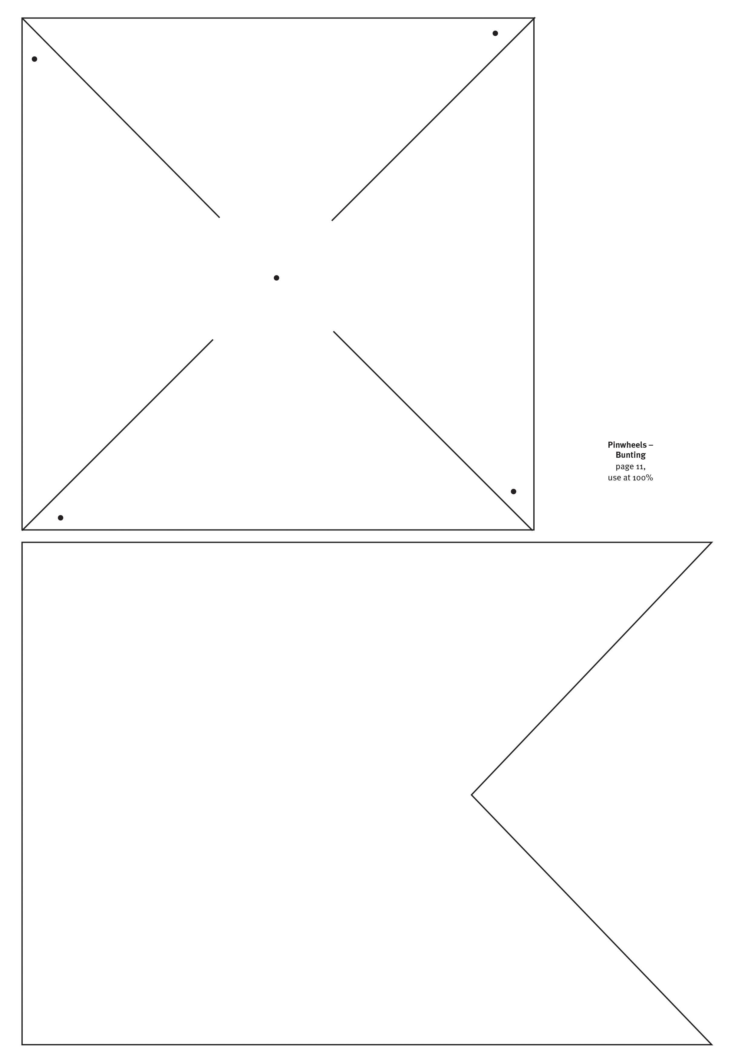 Vistoso Plantilla Pinwheel Imprimible Molde - Colección De ...