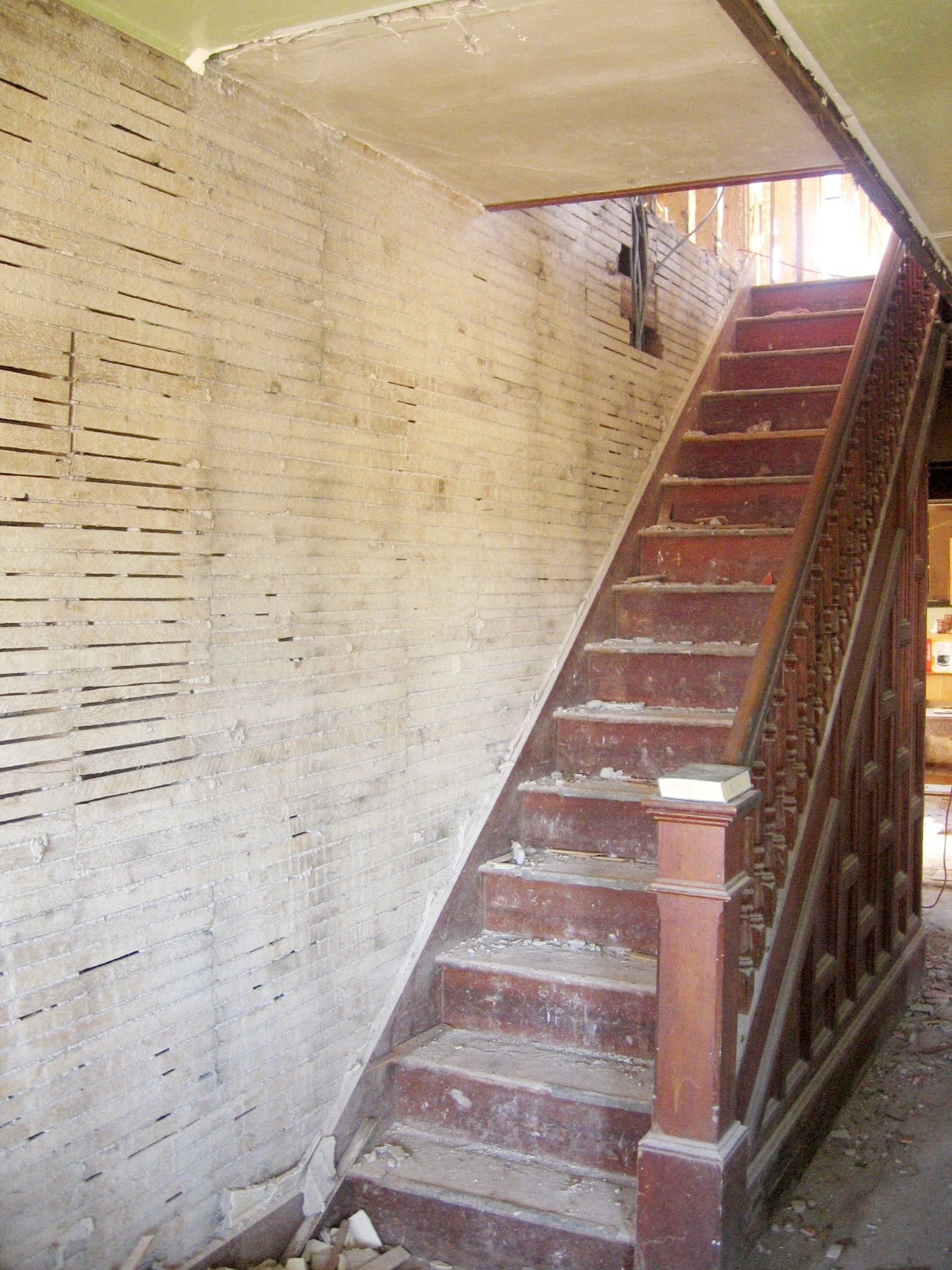 Beau Stairs: Before